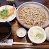 手打ち蕎麦 ながや - 料理写真:天ぷら付年越ざるそば