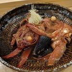 お魚亭 - 金目鯛かぶと煮