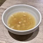 99482765 - クリームチキンの煮込みストロガノフ ランチ:クリームチキンの煮込みストロガノフ 酢キャベツのスープ コーヒー3