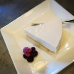 99486016 - ブルーベリーのレアチーズケーキ