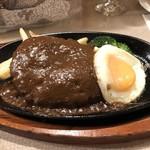 肉の万世 - ジャンボハンバーグ