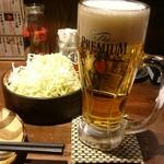 99486453 - 生ビール  490円(税抜:じゃんけん勝利で半額)
