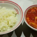 99487493 - 定食、麻婆豆腐大盛