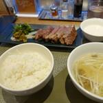 伊達の牛たん本舗 - 極厚芯たん定食
