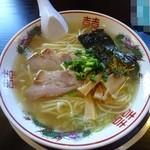 煮干中華 あさり - 「塩中華そば」並580円