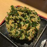 蕎麦処 グレゴリー - 「パクチー天」300円