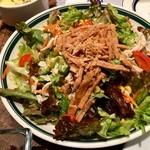 肉が旨いカフェ NICK STOCK - ニューヨークサラダ