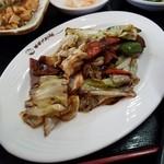 chuugokuryourikouka - ランチの「回鍋飯」