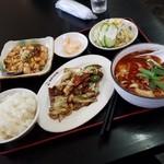 中国料理 幸華 - 「日替りランチ (750円)」
