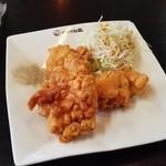 中国料理 幸華 - オプションで「若鶏の唐揚げ 3ヶ (+280円)」