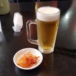 中国料理 幸華 - 「生ビール (中) (480円)」