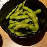 水炊き・焼き鳥 とりいちず - 枝豆:280円税別