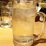 水炊き・焼き鳥 とりいちず - タカラ焼酎ハイボール:199円税別