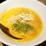水炊き・焼き鳥 とりいちず - 旨辛パイタン麺:480円税別