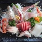 の一食堂 - 2019年1月 刺身定食 2160円