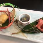 モリタ屋 - 前菜の盛り合わせ