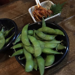Terikushi - 枝豆とチャンジャ