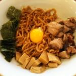 中華そば 札幌煮干センター - 油そば 200g(ネギ抜き)/750円
