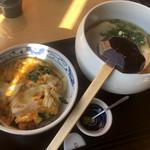 丸天うどん専門店 万平 - 料理写真:かつ丼セット900円