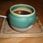 染と茶 - アイス珈琲
