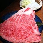 肉 いせや - しゃぶしゃぶの肉