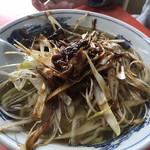 せいほう - 料理写真:特製ねぎソバ ¥850