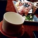 ウミネコ - ウミネコ@野毛 播州一献 純米(700円)