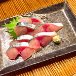 海の幸 美味 - 料理写真:サバ刺
