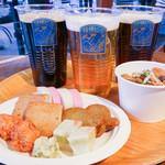 箱根ビールshop - 料理写真:ビールは3種類(税込各\650/500ml)