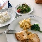 オー・カルチェ・ラタン - 本日の料理(鯛の白ワインソースポワレ)