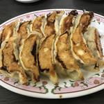 餃子の王将 - 餃子2人前(よく焼き)