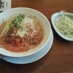 麺家 三士 - 魚介ネギラーメン