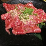 仙台苑 - 和牛ロース880円
