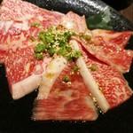 仙台苑 - 和牛カルビ880円