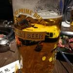 仙台苑 - 生ビール大720円