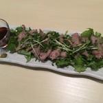 ラムと豪州ジビエバル プラスアルファキッチン - イノシシのほほ肉