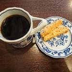 丸美珈琲店 -  コーヒーもだけどビスコッティが美味しい