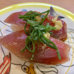 かっぱ寿司 - 料理写真:カツオ