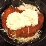 ソースかつ亭 黒のDON - 料理写真:チキンカツ南蛮丼