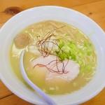 麺屋 一布 - 濃厚鶏らーめん(塩)