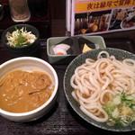 縁尽 - カレー丼セット800円