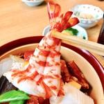 心斎橋 鮨 おか崎 - 海老大好き‼︎