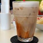 ぱんのいえ - アイスカフェラテ