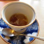 プリムローズ - 天草寒天 ほうじ茶と焦がしキャラメルソース