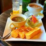 99515696 - スープセット(サラダ、トースト付)