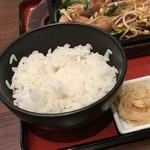 韓韓市場 - テジコギ定食