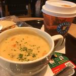 エクセルシオール カフェ - スープドリンクセット