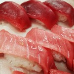 みなと市場 小松鮪専門店 - ◆「まぐろ握り」お正月限定バージョン