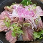 みなと市場 小松鮪専門店 - ◆「大トロ炙り丼」