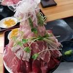 みなと市場 小松鮪専門店 - ◆「ほっぺ天身丼」